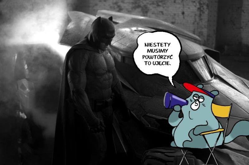 A tak naprawdę wyglądał pierwszy kadr z filmu Batman ;)
