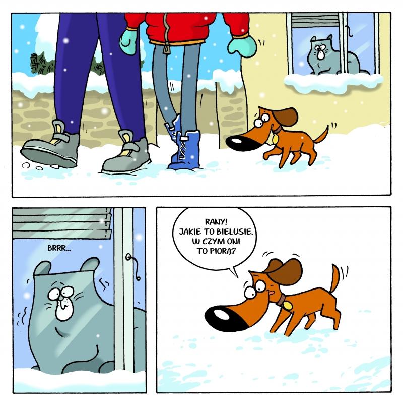 Dla Was upraliśmy śnieg :)