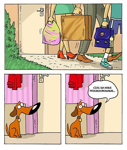 Pies-psotnik :)